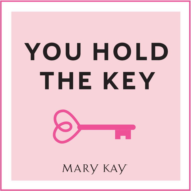 Mary Kay Ash unlocked the door of opportunity for women all around the world. And now, You Hold the Key! Each month during the 2018 – 2019 Seminar year that an Independent Beauty Consultant places a cumulative $600* or more wholesale Section 1 order, the door is opened to a monthly jewelry piece from the exclusive Mary Kay You Hold the Key Jewelry Collection by R.J. Graziano. And that's just the beginning! Setting and achieving a retail selling goal to support a $600* or more monthly wholesale Section 1 order can be the key to consistent success. And every month, you'll discover a different Mary Kay-ism that gives you a path to follow. With new faces as your goal and the Mary Kay way as your guide, You Hold the Key to making your dreams come true!